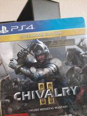 chivalry ps4 steelbook Edition neu