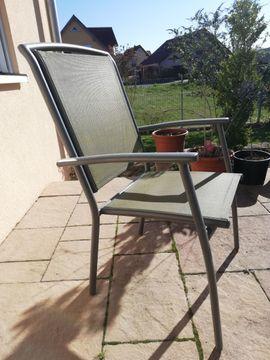 Gartenmöbel - Wetterfestes Gartenmöbel-Set Gartentisch mit Glasplatte