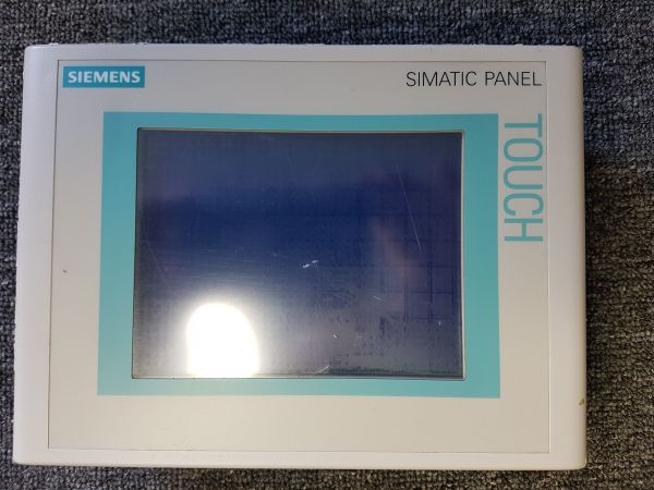 Graphisches Touchpanel Siemens Simatic Touch