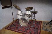 Schlagzeug Pearl Wood Fiberglass in
