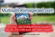 Top-Level com Domain - multisplit-klimageraet com -