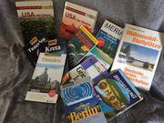 diverse Reiseführer im Paket