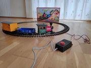 Großes Modelleisenbahnset LGB Spur G