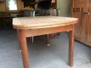 Holztisch alt zum ausziehen