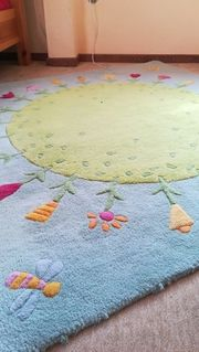 TEPPICH HABA Kinderteppich Blumenwiese