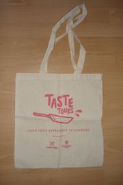Taste Tours Einkaufstasche Stoff