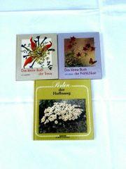 3 kleine Bücher mit Spruchweisheiten