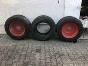 3x 385 55R-22 5 Michelin