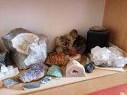 Mineralien Sammlung