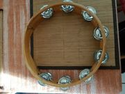 Tamburin aus Holz