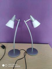 2 schöne Nachttischlampen