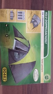 3 Personen Neues Zelt