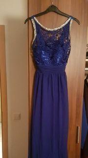 Kleid blau Gr S