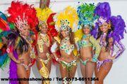 Sambashow - Sambatänzer für Ihre Weihnachtsfeier