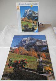 Puzzle Schweizer Bergidylle 500 Teile