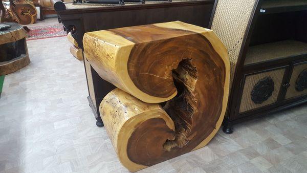 Sideboard aus Wurzelholz Baumstamm