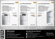 SMEG Gastro Haubenspülmaschine Gewerbespülmaschine Gläserspülmaschine