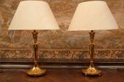Echt 800-er Silber Lampen Paar