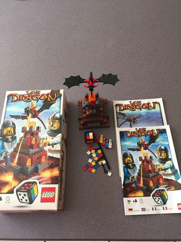 Lego 3838 Spiel Lava Dragon
