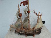 Segelschiff Kogge Bunte Kuh