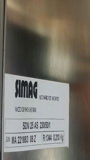 Eiswürfelmaschine Simag SDN 25