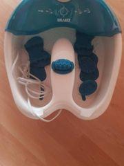 Fusssprudelbad Fußpflegen