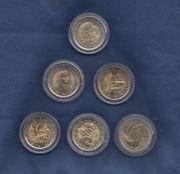 Diverse 2 Euro Gedenkmünzen - Italien -