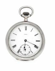 Omega Taschenuhr aus 800er Silber