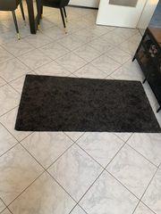 Teppich Schwarz Grau