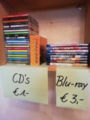 DVD CD bluray VHS
