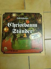 Adendorfer Christbaumständer Durchmesser 26 cm