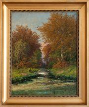 MeisterGemälde HENRI GOGARTEN 1850 Junge