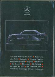 Stars Cars 3 Mercedes Motorsport