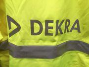 DEKRA Warnschutzjacke Arbeitsjacke Atmungsaktiv Wasserabweisend
