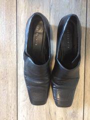 schwarze barbarella Schuhe Größe 40