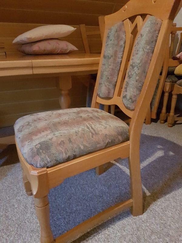 6 Stühle Esstisch