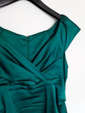 Festliche Abendbekleidung, Damen und Herren - Smaragdgrünes Cocktailkleid 1x bei der