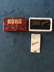 Korg GT 2 Stimmgerät Gitarrentuner