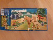 Playmobil Pferdefamilie mit Koppel 4188