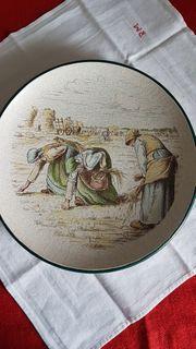 Keramik Teller Jean-Francois Millet Die