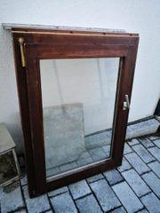 Holzfenster mit Alusims