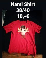 Nami One Piece T-Shirt Cosplay
