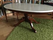 Couchtisch Holz oval