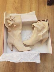Stiefel aus Wildleder Gr 38