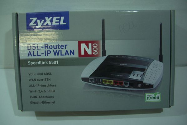 ZyXEL Speedlink 5501 DSL-Router All-IP