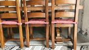 großer alter Tisch Echtholz