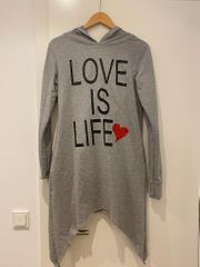 Sugarbird Pulli Kleid mit hoodie -