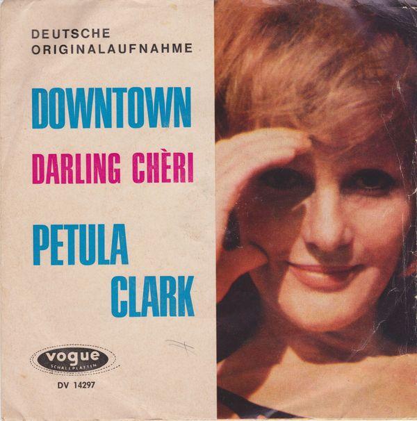 Petula Clark - -Downtown Single