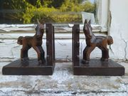 Buchstützen Pferde Holz