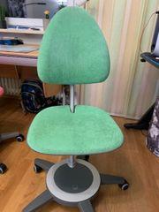 Schreibtischstuhl Kinder MOLL mintgrün